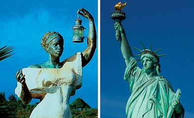 Legend says first 'Statue of Liberty' was black woman honoring abolition of slavery