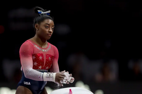 Simone Biles,  has something new for Tokyo
